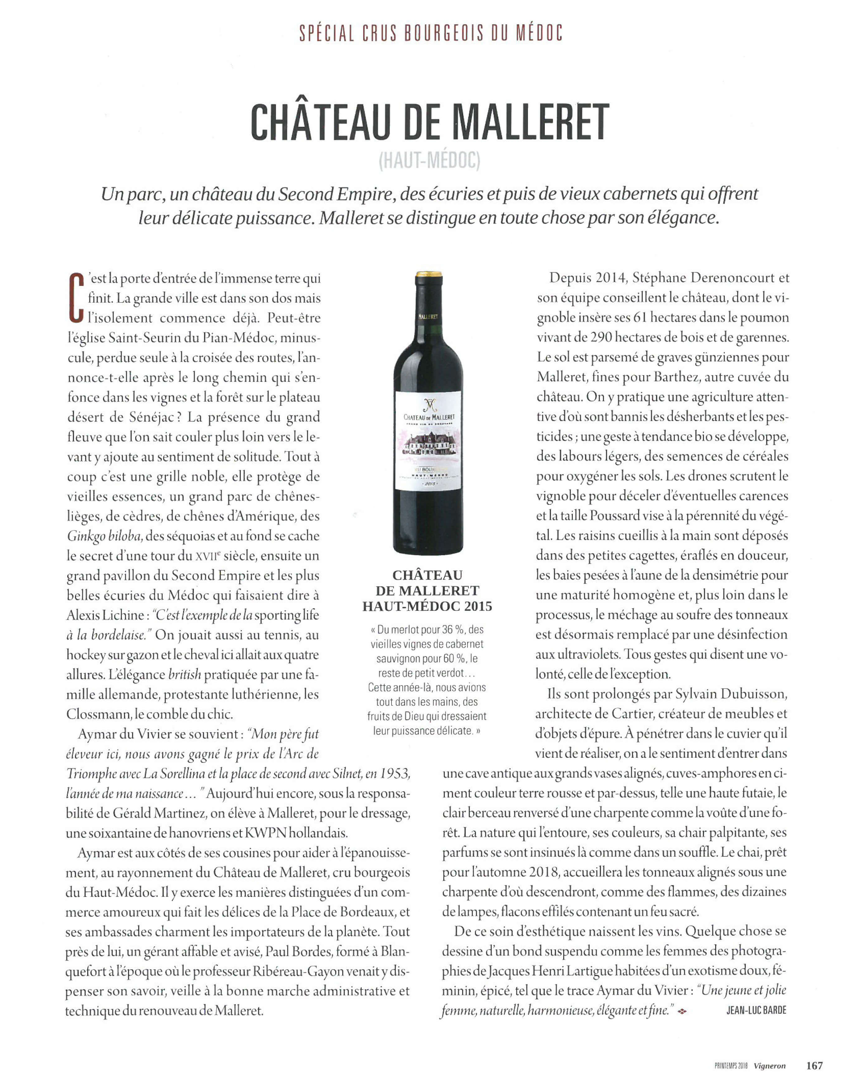 Vigneron Magazine