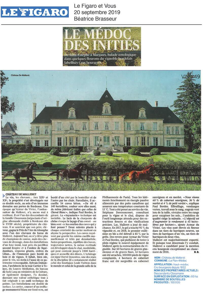 Figaro septembre 2019
