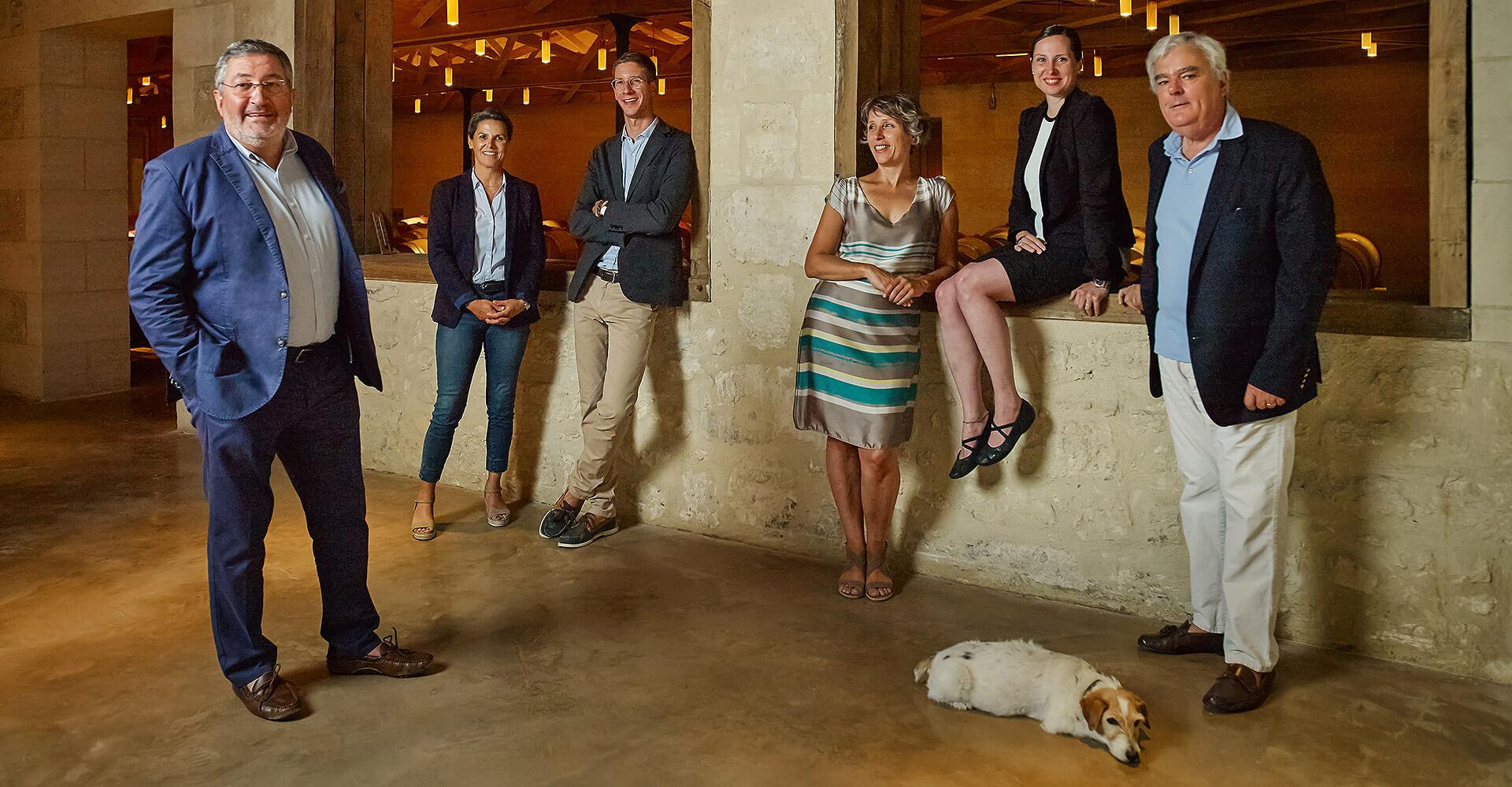 Management and administrative team Château de Malleret